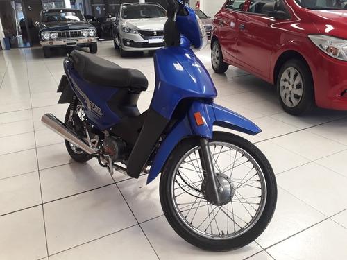 motocicleta keller kn110-8 2017 azul