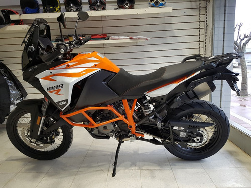 motocicleta ktm 1290r super adventure 2018 0km blanca