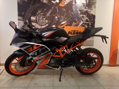 motocicleta ktm rc 200 blanca 2018 0km
