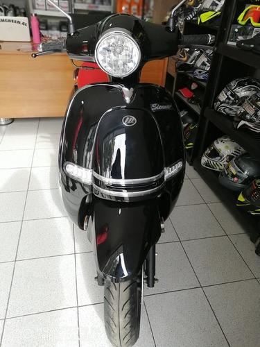 motocicleta lifan sienna 150 color negro