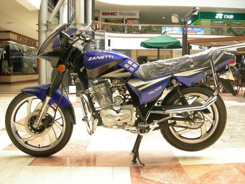 motocicleta marca zanetti modelo trj/125 año 2006
