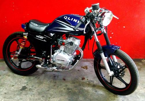 motocicleta modificada force 150 c.c.