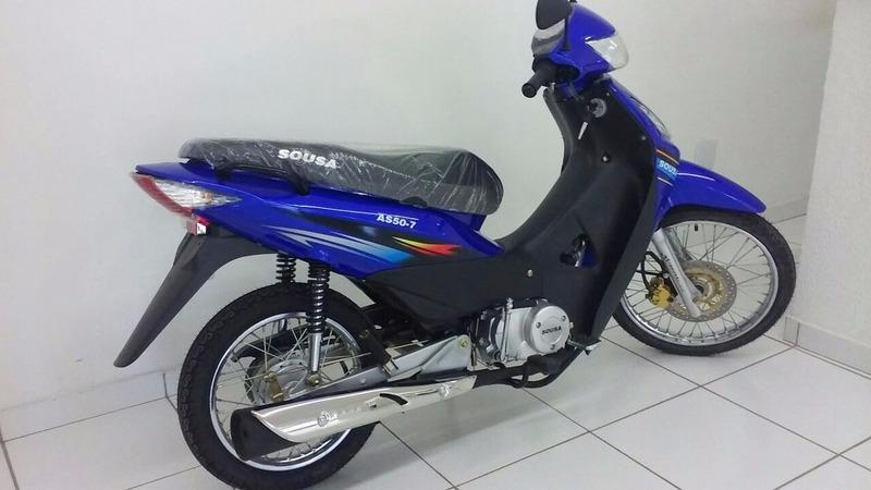 motocicleta - moto sousa 50 cilindrada 2016