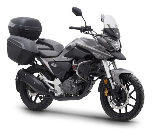 motocicleta nueva lifan kpt200 con maletas promocion