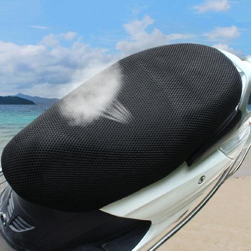 motocicleta protector solar asiento cubierta pequeño agujero