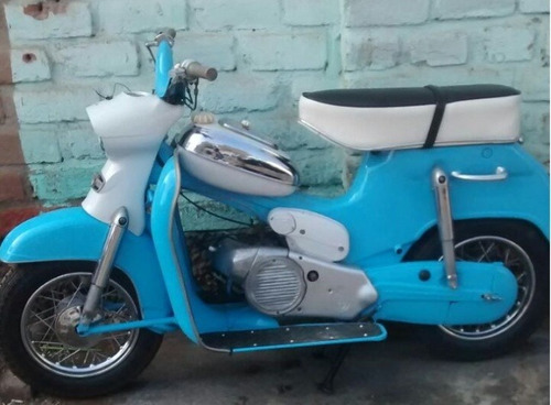 motocicleta puch 1954 antiguo antigua vespa lambretta