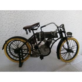 Motocicleta Réplica De Modelo Harley Davidson 1906