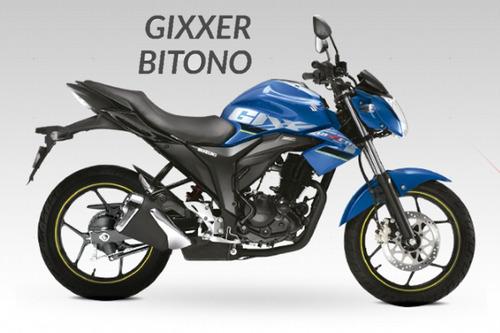 motocicleta suzuki gixxer / gixxer bitono 2019 (promoción)