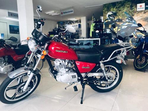 motocicleta suzuki gn125 2020nueva