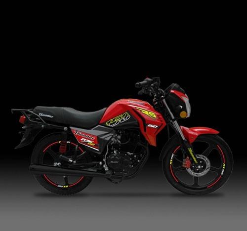 motocicleta thunder rs 150 matrícula incluida