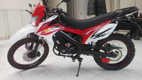 motocicleta todo terreno enduro 250 nueva