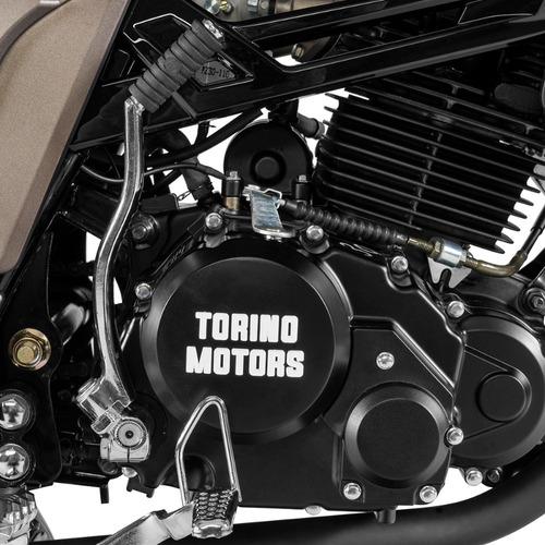 motocicleta torino motors typhoon 250 negro modelo 2019