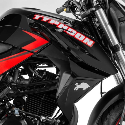 motocicleta torino motors typhoon 250 negro modelo 2020
