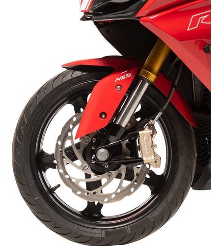 motocicleta tvs rr 310 rojo modelo 2019