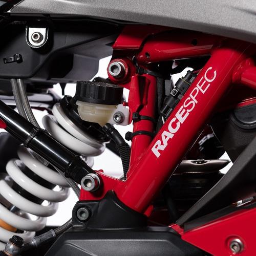 motocicleta tvs rr310 rojo