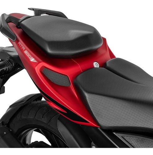 motocicleta tvs rtr 200 4v rojo