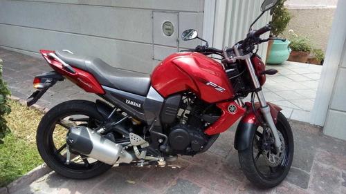 motocicleta yamaha fz16 rojo 2012
