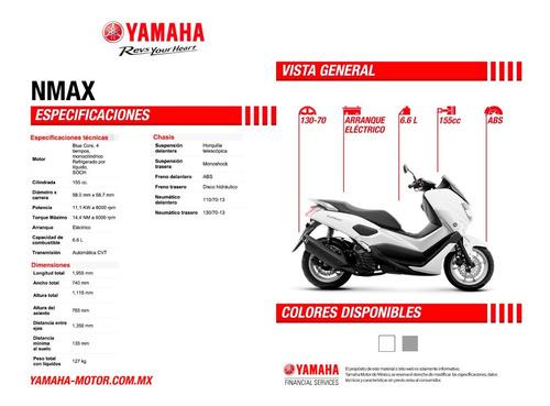 motocicleta yamaha nmax 2020 unidad nueva