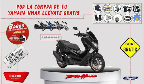 motocicleta yamaha nmax con obsequios!