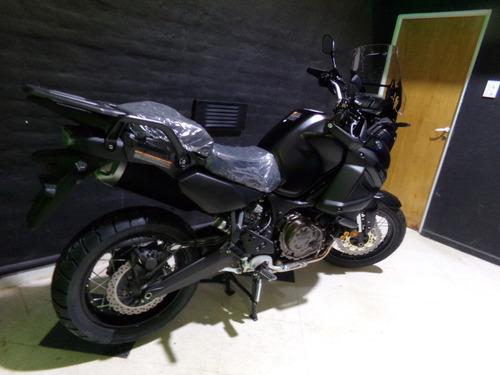 motocicleta yamaha super tenere 1200 ze 2018 0km negra