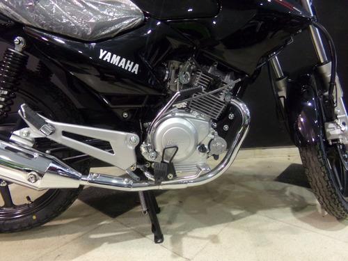 motocicleta yamaha ybr 125 ed full 2018 0km negra