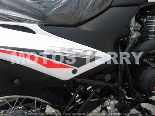 motocicleta zanella zr 250 lt 0km, enduro, cross, skua, trip