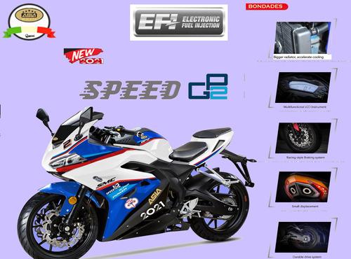 motocicletas pisteras speed gp2 asia motor inyectada