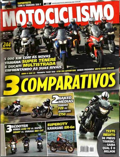 motociclismo 151 * super ténéré * fz8 * z750 * neo cvt