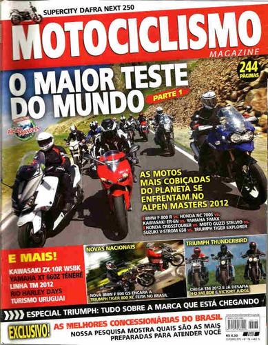 motociclismo 178 *  bmw r 800 r * er-6n * v-strom 650 * zx-1