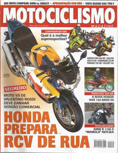 motociclismo 64 * ktm 950 * gsx 750 f * nxr 150 * bmw r 1100