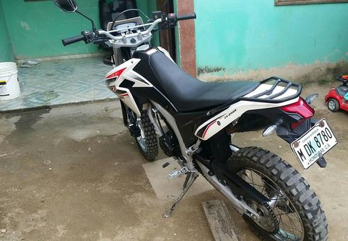 motocileta kmf cc250 año 2017