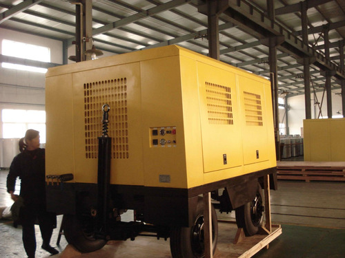 motocompresor de 10 m3 con motor cumnis a tornillo 3 salida