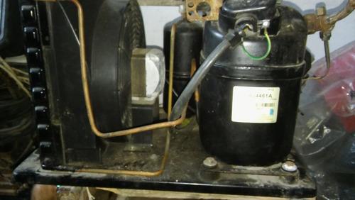 motocompresor de heladera mostrador