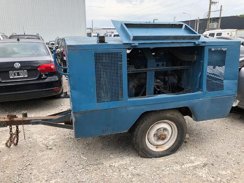 motocompresor sullair 185q sobre trailer envios al interior