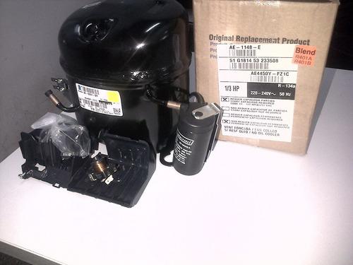 motocompresor tecumseh 1/3 r134 ae4450y-fz1c