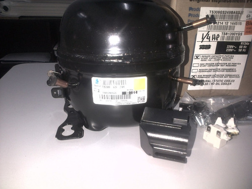 motocompresor tecumseh 1/5+hp r134 220v comercial tgh1374yfc