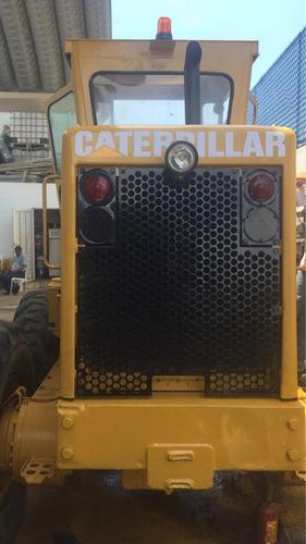 motoconformadora 12g caterpillar con escarificador 1981