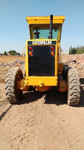 motoconformadora caterpillar 120g año 1989