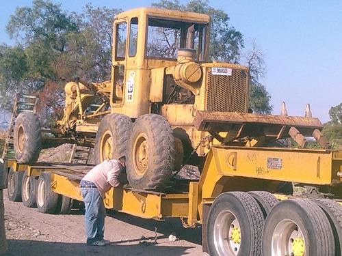 motoconformadora caterpillar 12f 13k con riper 3 sancos