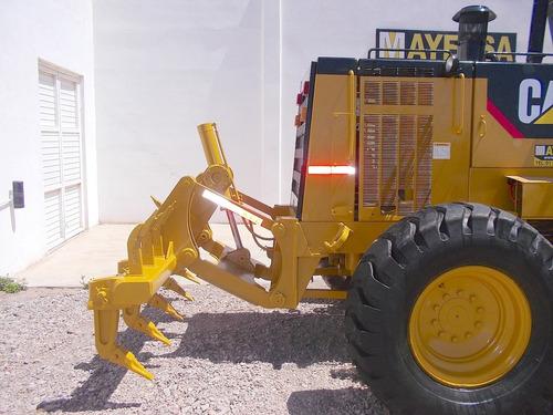 motoconformadora caterpillar 140h ripper llantas nuevas