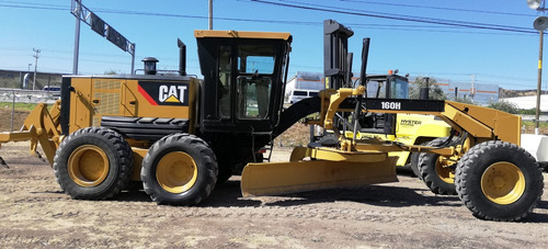 motoconformadora caterpillar 160h  ripper 2006