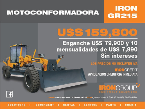 motoconformadora iron gr215
