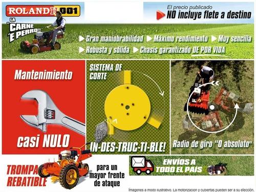 motocortadoras de césped, malezas y arbustos roland h001 pro