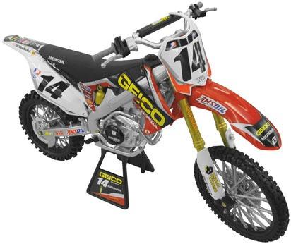 motocross newray rép. geico pow. kevin windham esc. 1:6 2012
