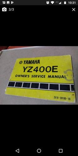 motocross yamaha yz400