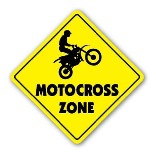 motocross zone sign dirt bike supercross cycle racing trucos