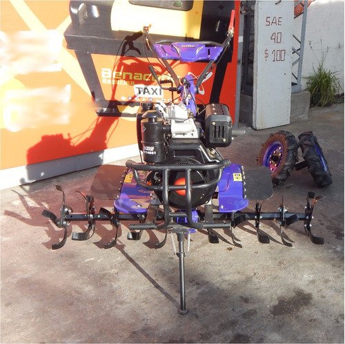motocultivador 10hp p/arado con herramientas