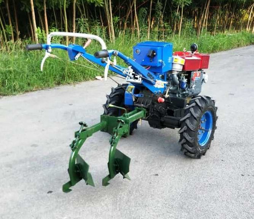 motocultivador 15 hp diesel  con rotovator y arado fes77