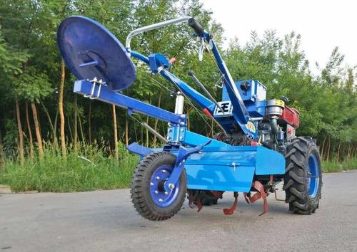 motocultivador 15 hp diesel  con rotovator y arado fesal