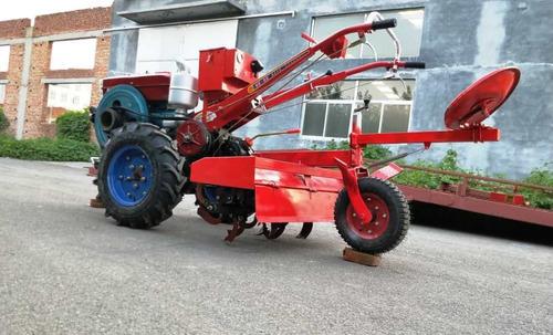 motocultivador 20 hp diesel  con rotovator y arado fes77